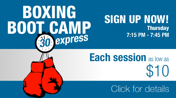 Fitness Factory Boxing Boot Camp Express group training class
