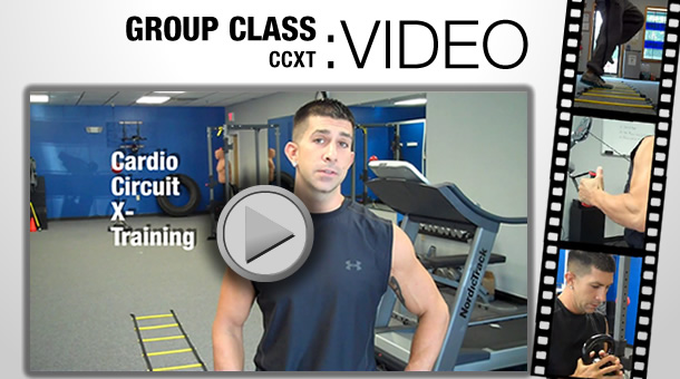 Video of CCXT group training class at the Fitness Factory