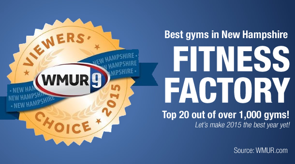Fitness Factory: Top 20 Gym in New Hampshire