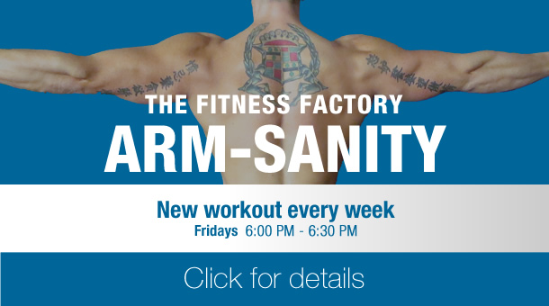 Fitness Factory ARM-Sanity group training class
