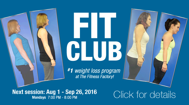 Fitness Factory Fit Club fitness program