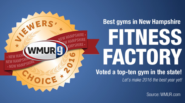 The Fitness Factory: Top-ten gym in New Hampshire!