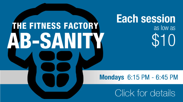 Fitness Factory AB-Sanity group training class