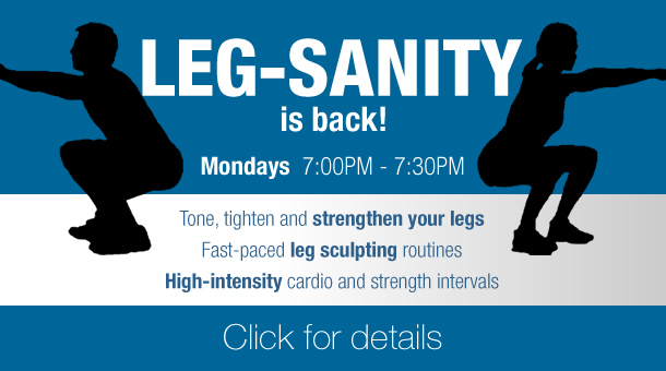 Fitness Factory LEG-Sanity group training class