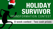 Holiday Survivor Transformation Contest